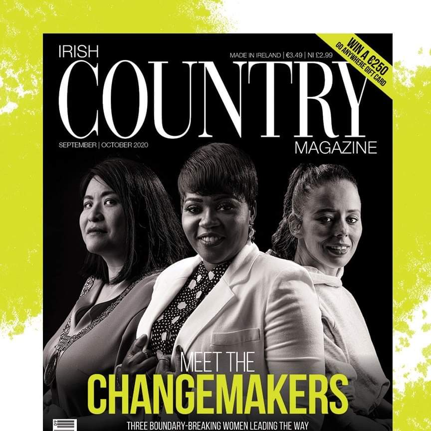 News feature on involvement with the Irish country magazine
